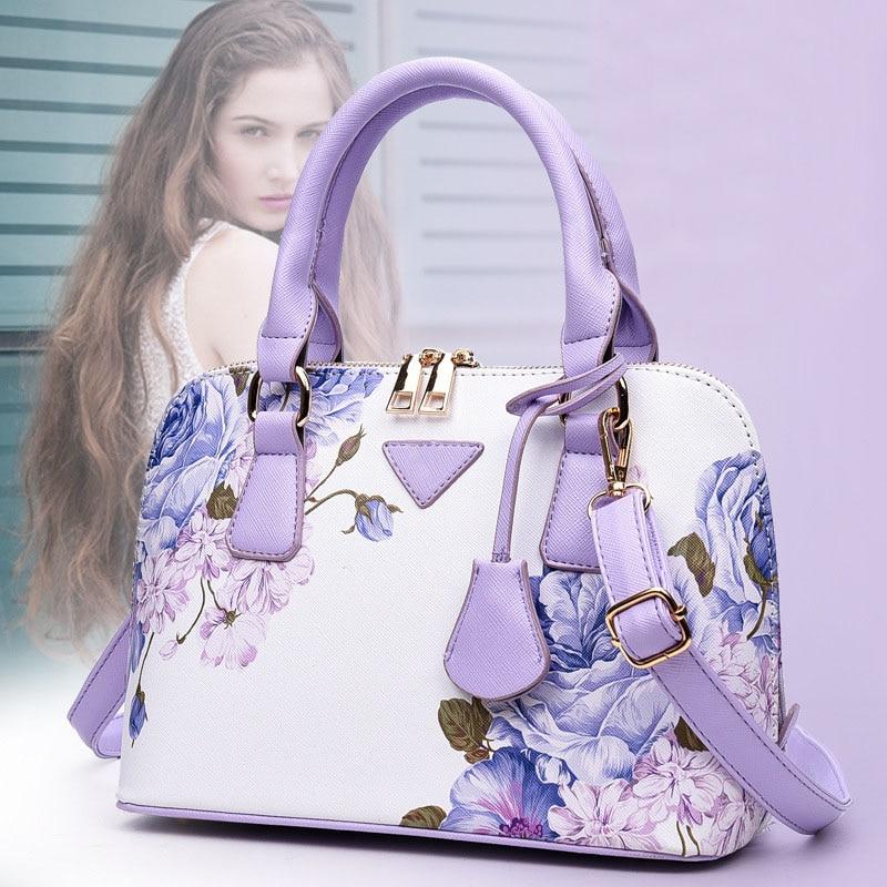 Fashion Women Shoulder Bag Tote Purse PU Leather Handbag Messenger Crossbody Satchel Shell Bags WML99 sif women handbag shoulder bags tote purse satchel women messenger bag jun 28