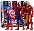 Marvel Легенды Гражданской Войны Капитан Америка Черная Пантера Видения Сокол Железный Человек ПВХ Фигурку игрушки P563
