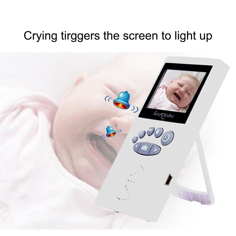Vision nocturne sans fil couleur Lcd Audio vidéo Babymonitor sommeil Bebe bébé téléphone Radio nounou caméra moniteur sécurité bébé moniteur - 4
