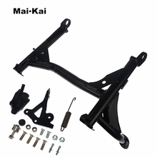 For KAWASAKI Z900RS Z900 RS Z 900RS 2017+ Motorcycle Middle Kickstand Foot Kick Stand Body Support Lift Up Bracket