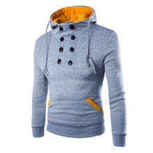 2017 новая брендовая одежда зимние повседневные толстовки мужские хлопчатобумажные Модные мужские теплые толстовки кофты тонкий куртка с капюшоном M-2XL BW1809