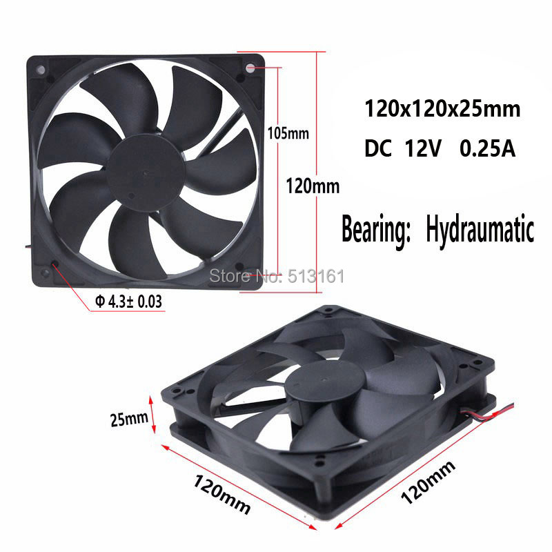 120mm 4pin fan 10