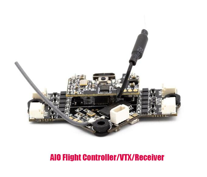 Emax 2S Tinyhawk S Mini FPV Racing Drone With Camera 0802 15500KV Brushless Motor Support 1/2S Battery 5.8G FPV Glasses RC Plane