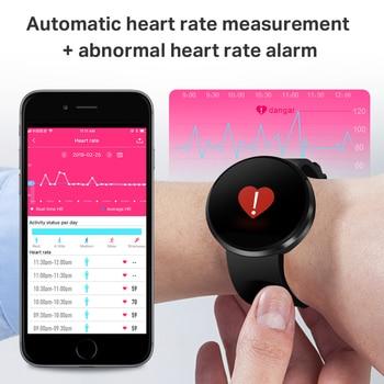 2019 Novo Relógio Inteligente IP68 Monitor de Pressão Arterial de Freqüência Cardíaca À Prova D 'Água LEMFO Smartwatch Rastreador de Fitness para Homens Mulheres 1
