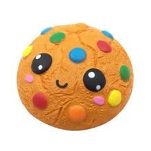 Kawaii Hamburger Bun Cake Ice Cream Scoop Popcorn Pizza Cookies Squishy Slow Rising Toys Jumbo Squishies Christmas Gifts Toy