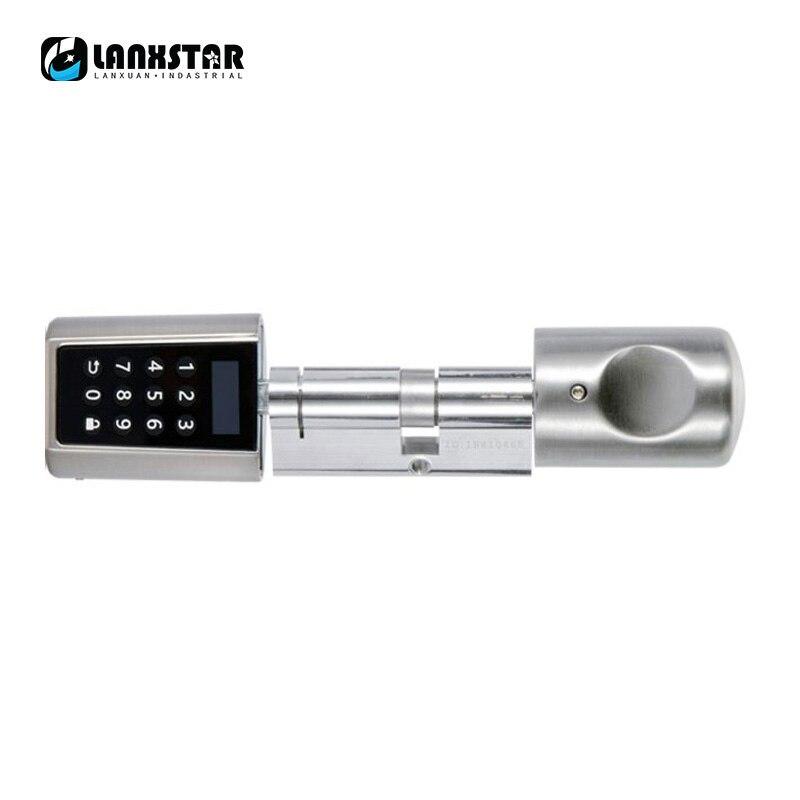 Durable Smart Lockcore Mechanical Lock Transformation Replacement Intelligent Cylinder Password Bluetooth RFID Card APP Locks