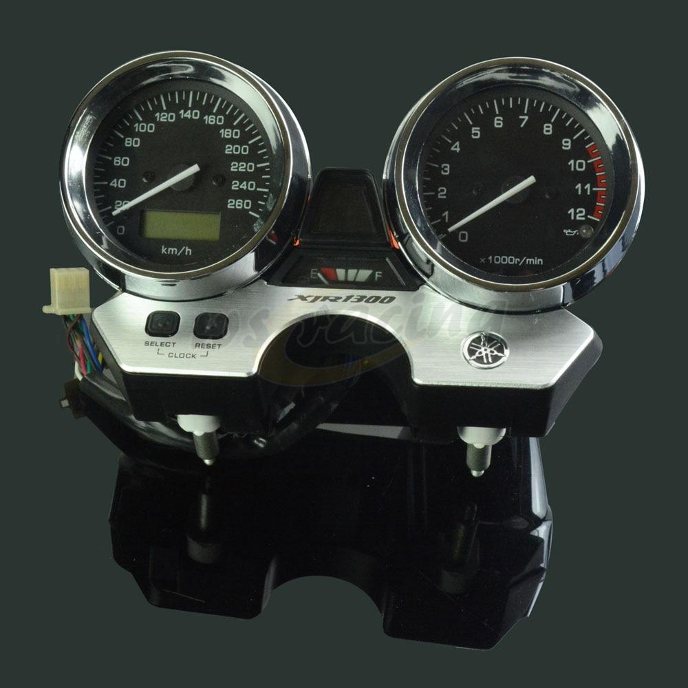 Motorcycle Tachometer Odometer Instrument Speedometer Gauge Cluster Meter For YAMAHA XJR1300 XJR 1300 1998-2003 for yamaha xjr1300 98 02 speedometer tachometer speedo gauge cover motorcycle xjr 1300 1998 1999 2000 2001 2002 motorcycle