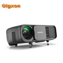 Gigxon G760 1080P HD Super projector 5m 3200 lumens 2000:1 LED USB/SD card/VGA/AV/Headphone Home Office Classroom use