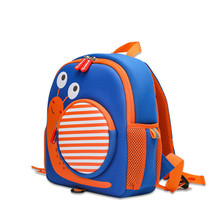 School bag female childrens schoolbag kindergarten 2-6 years old anti-lost male backpack back pack purse