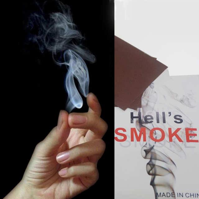 1 Set 3PCS Magic Prop Smoke From Finger Surprise Prank Joke Hell Smoke  Mystical Magic Tricks Toys for Children Magicians Funny