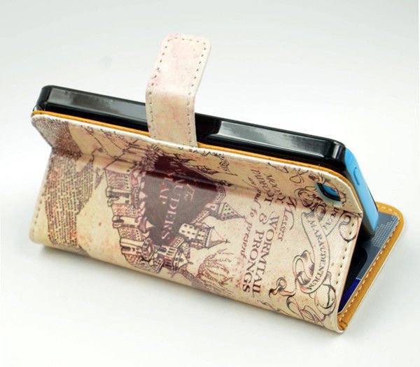info for 695db 773d9 US $12.99 |Harry Potter Marauders Map Inspired Leather Wallet Flip Case For  Iphone 4 iphone 4S on Aliexpress.com | Alibaba Group