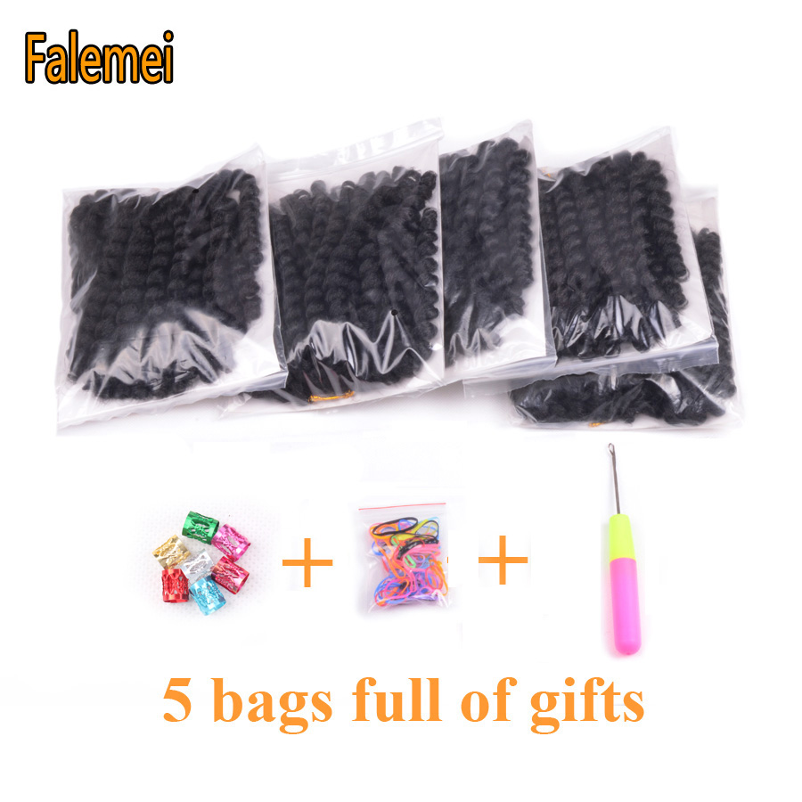 FALEMEI 2Χ Τζαμαϊκανές Μπλούζες μαλλιών 10 - Συνθετικά μαλλιά - Φωτογραφία 2