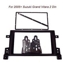 Envío gratis nuevo Coche que reinstala el marco, panel de DVD, Kit de la Rociada, Fascia, Frame Radio, Audio marco para SUZUKI GRAND VITARA 05-up, 2DIN