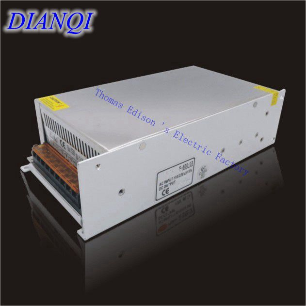 Top Quality 24v Switching Power Supply 800w 24v 33A  input AC110 or 220V For Strip Lamps power suply voltage transformer power supply 24v 800w dc power adapter ac110 220v non waterproof led driver 33a ups for strip lamps wholesale 1pcs