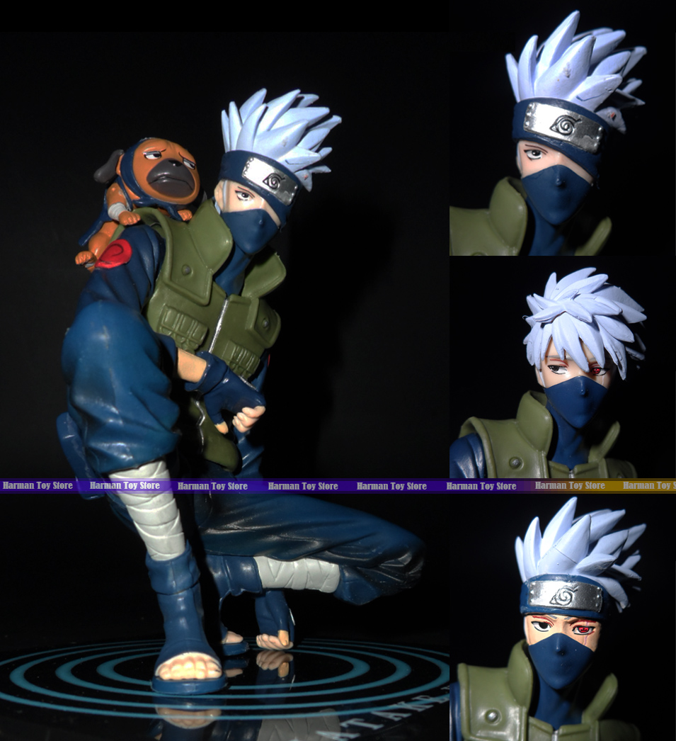 13cm PVC Japanese anime determine Naruto Hatake Kakashi Motion Determine Assortment Mannequin Toy children toys for boys