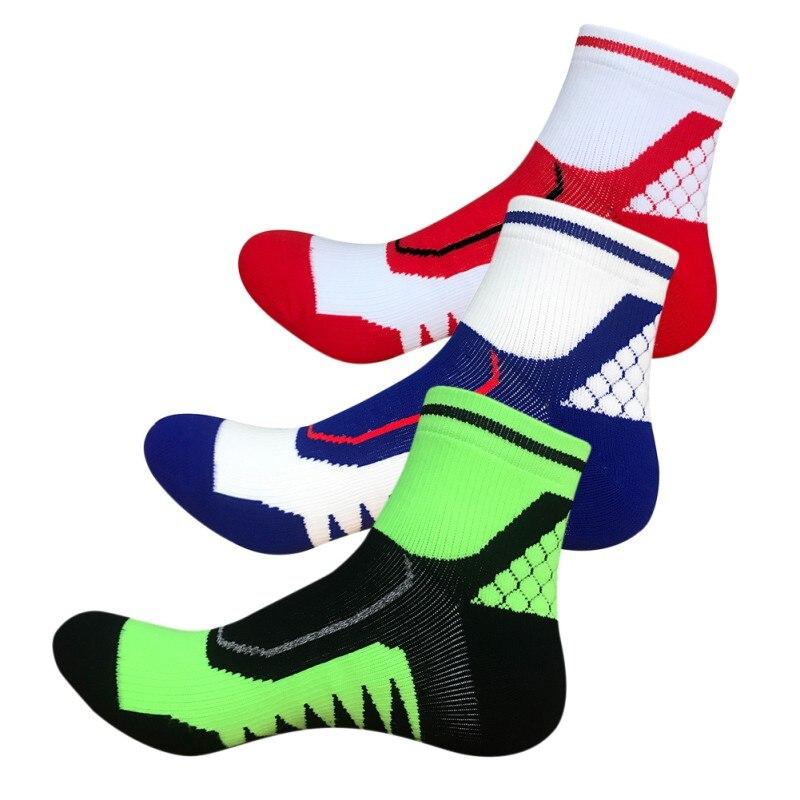 2017 New Arrival Sports Running Cycling Socks Men Bicycle Outdoor Bike Sport Socks