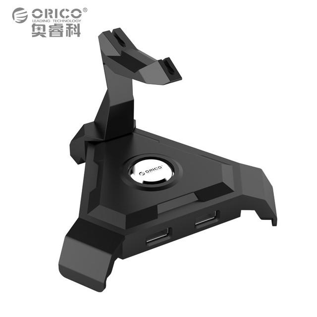Orico LH4-U2 Ratón de Gestión de Cables 4 Puertos USB $ NUMBER HUB (Sin Adaptador de Corriente)