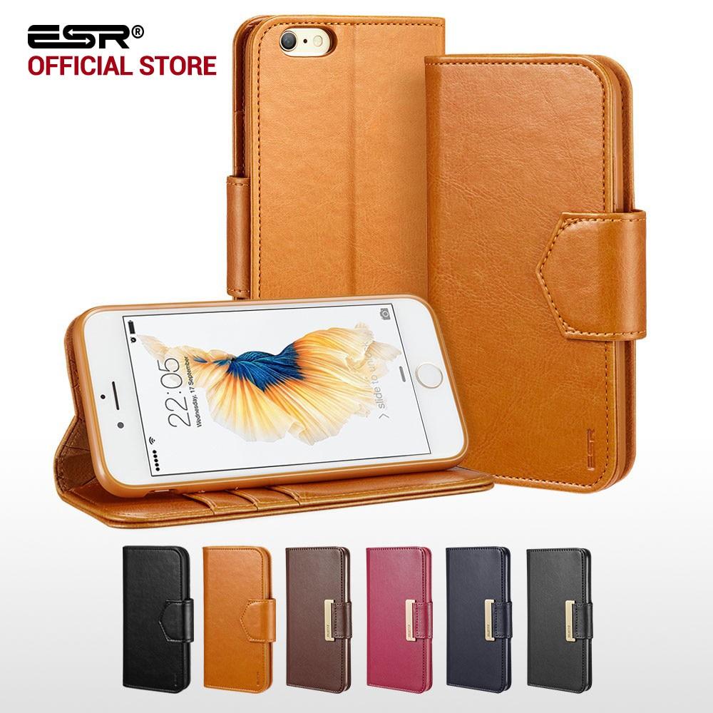 bilder für Fall für iphone 6 6 s Plus, ESR Premium pu-leder Business Stil Mappen-kasten-schlag-abdeckung Folio Fall für iPhone6/6 s/6 P/6 s Plus