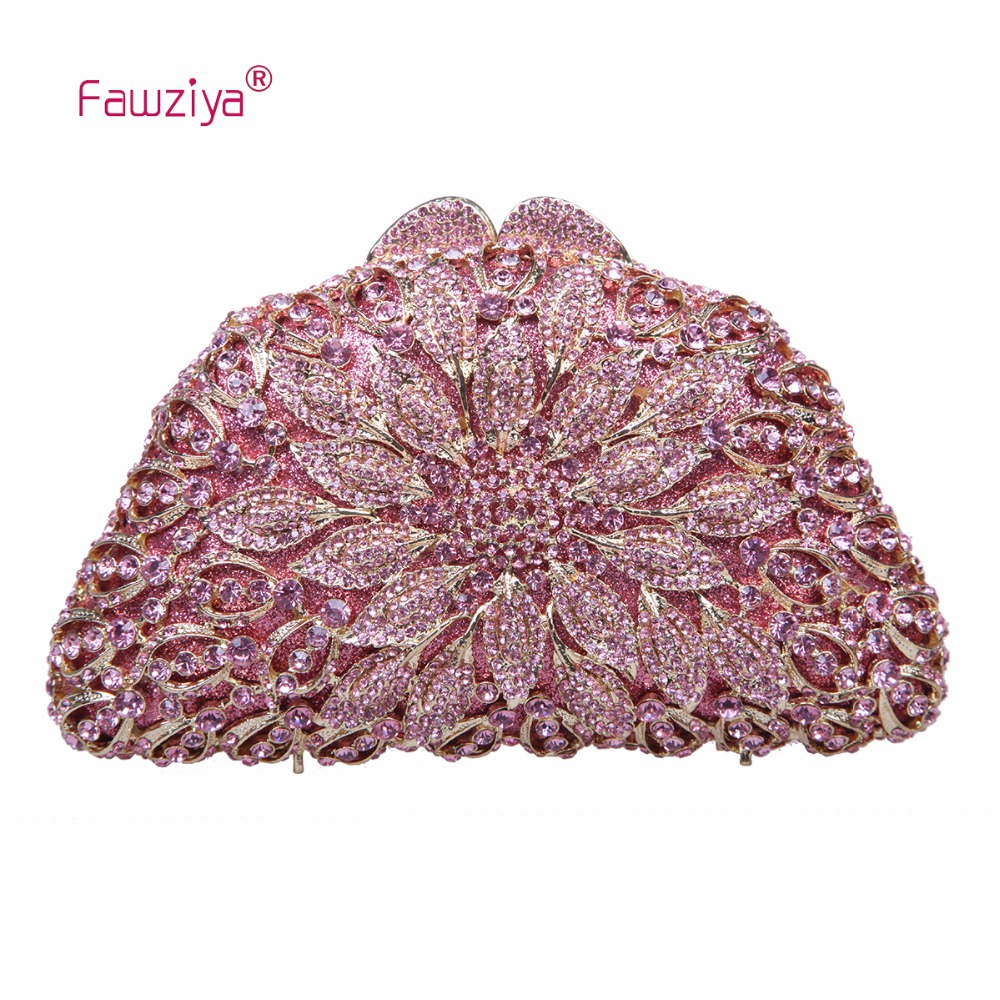 Fawziya Bags Handbags Women Famous Brands Floral Clutches For Womens Clutch Purses And Handbags