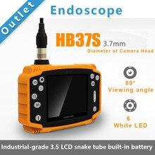 """Smartfly HB37S 3.7 мм 3 м 3.5 """"ЖК-дисплей эндоскопа бороскоп змея инспекции DVR техосмотра трубопровода"""