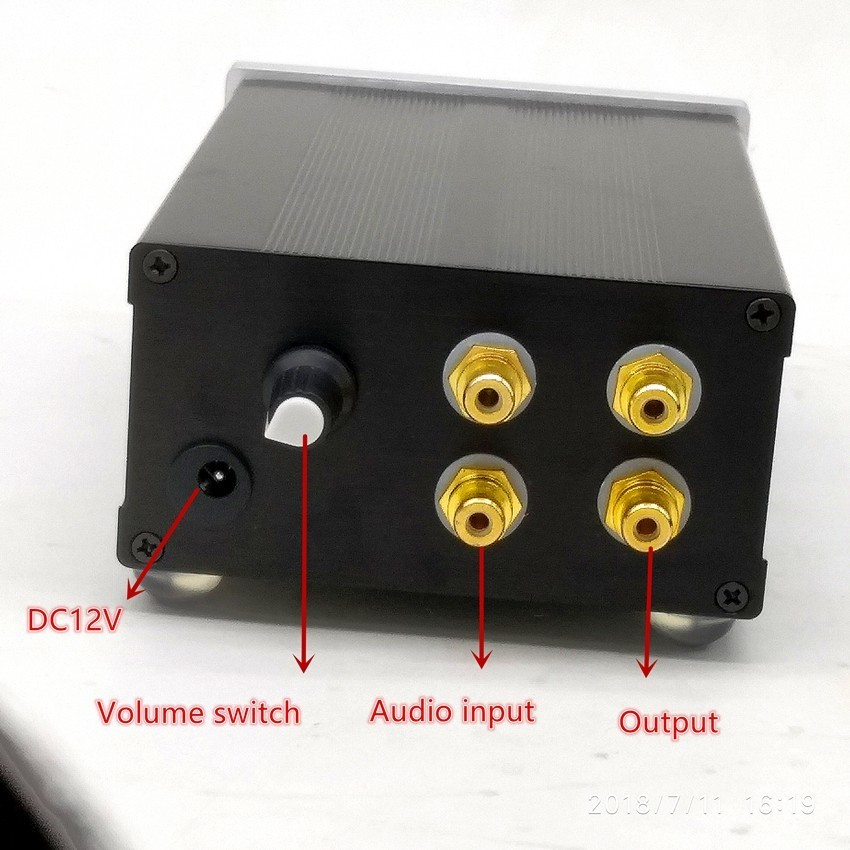 Tiancoolkei Tube-02 Music Fax 6j1 Tube Preamplifier Stereo For Audio Amplifier Home Audio & Video