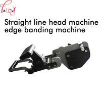JB32S Straight linha de cabeçalho máquina seladora manual de operação carpintaria borda arc cabeça aparelho máquina de vedação em linha reta 1 pc|edging machine|woodworking machinery|  -