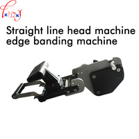 Straight Line Header Sealing Machine JB32S Manual Operation Woodworking Edge Sealing Machine Straight Arc Head Apparatus