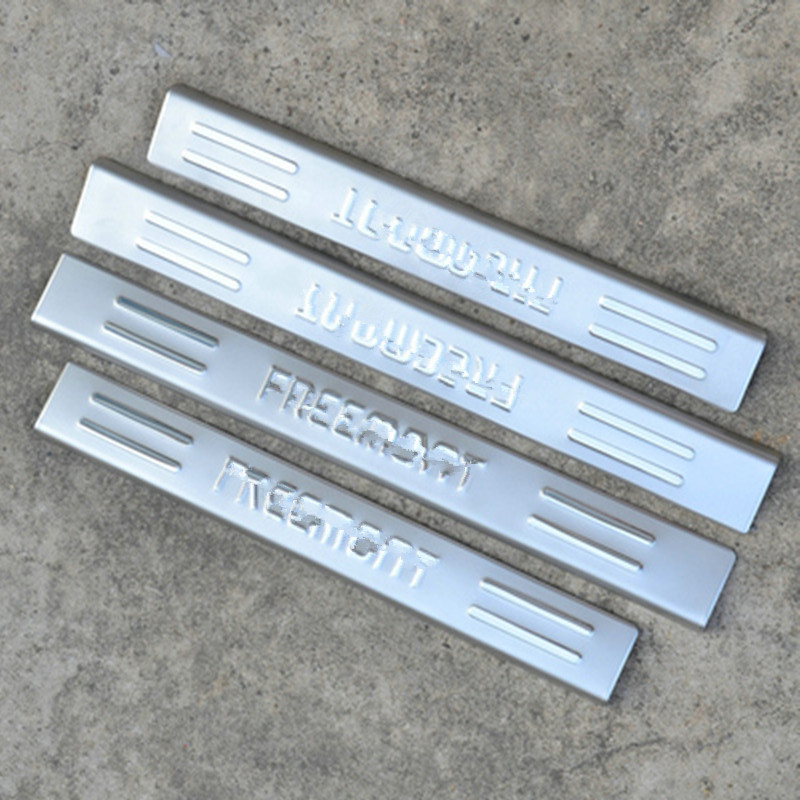 High quality stainless steel door sill scuff plate panel - Exterior door threshold replacement parts ...
