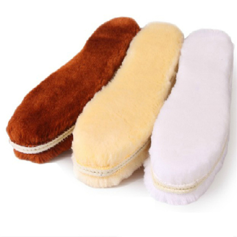 2017 hot sale size 35-45 synthetic wool insole warm and soft and comfortable winter warm insoles for men and women