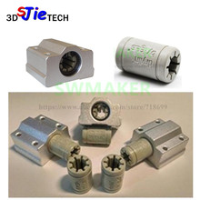7 pcs פולימר SC8UU & סוגר 8mm לינארי Rail כפול Igus Drylin RJ4JP 01 08 עבור Anet/Tronxy/Reprap prusa i3 3D מדפסת