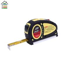 New Laser Level Ruler Horizontal Vertical Line Tape Aligner 18 FT/5.5m Measure Tape Measuring Tools