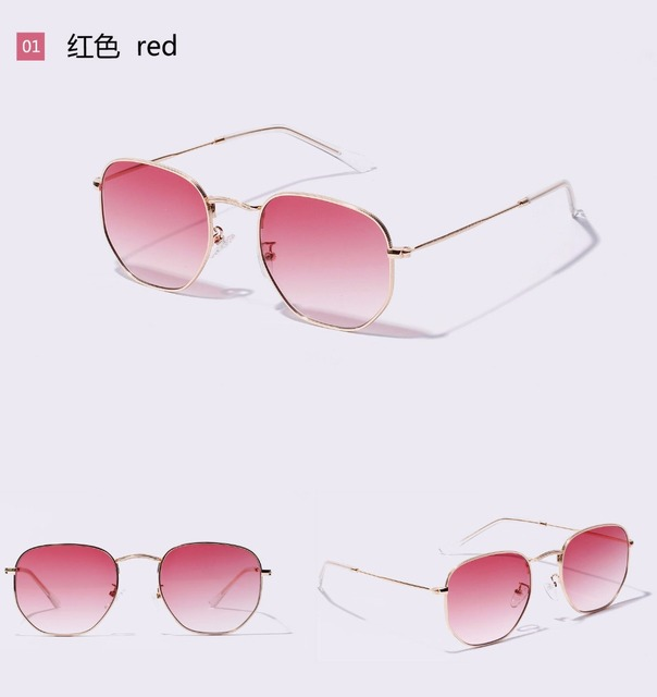 1a5f7a0aef Ruosyling Square Vintage Sunglasses Women Men 2019 Weird Clear Sunglasses  Girls Clear Lenses Sun Glasses Oculos
