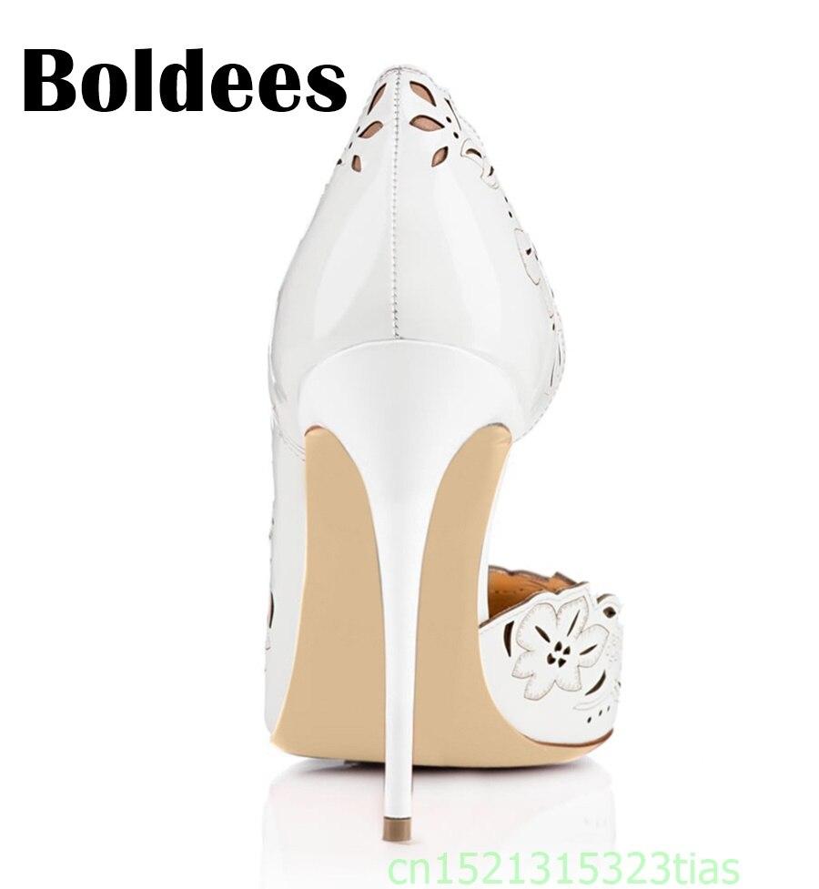 gezeigtals Sapato 43 Sommer Farbe Plus Gre Ausschnitte Fashion Farbe Heels Schuhe Boldee Femininos High Spitze Wie Damen Pumps hdQrtsC