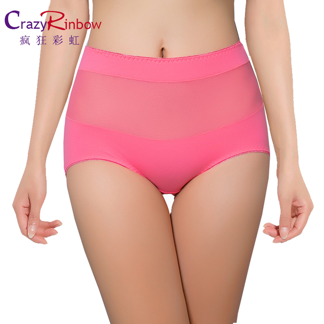 Pure cottonnHigh Waist Briefs Underwear