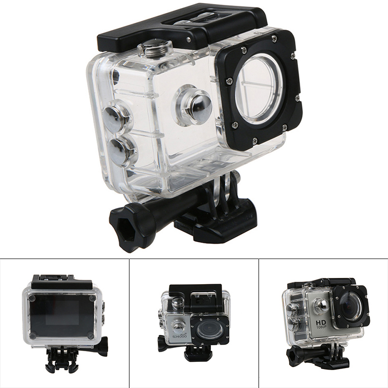 Diving Swimming Camera Waterproof Case Protective Shell For Sjcam Sj4000 Action Sport Cameras Nd998