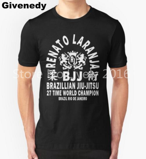 d2a877c64f5 2016 New Summer Style Fashion Renato Laranja Judo BJJ JIU JITSU T Shirt Men  Casual Short Sleeve T-shirt