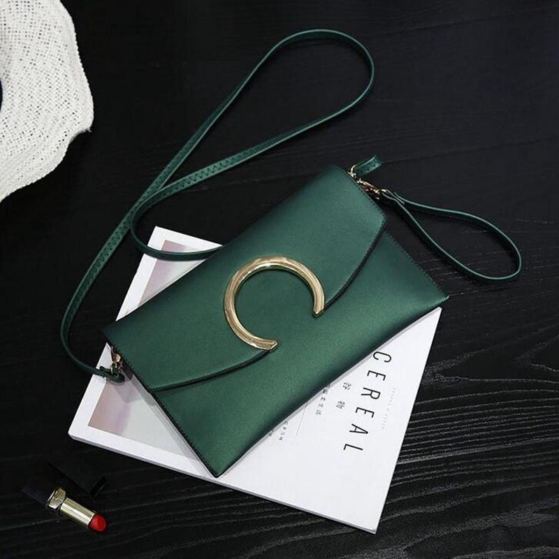 2018 New Arrival pu Leather Women Fashion Envelope Bag Shoulder Handbag Crossbody Messenger Lady Bags Purses PP-731 5