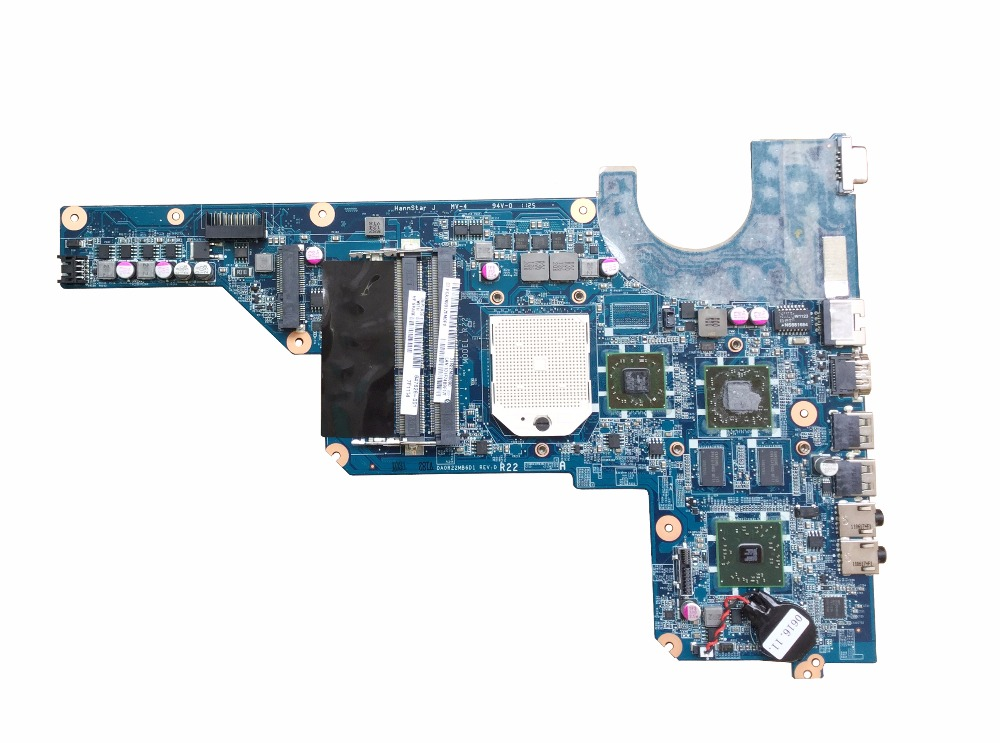 638854-001 Free shipping for HP G4 G6 G7 motherboard 647626-001 DA0R22MB6D1 motherboard 100% test passed!!!