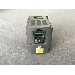 1.5KW/2.2KW/3KW 110V 220V 380V AC napęd o zmiennej częstotliwości konwerter VFD falownik do kontroli prędkości dla CNC w Przemienniki i przetworniki od Majsterkowanie na