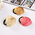 New Fashional Rose Flower Delicate Elastic Hair Bands Headbands for Girls Headwear Accessories Hair Jewelry for Women