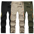 New Products Selling Men's Quick dry Pants High Quality Men's Quick-drying Pants Waterproof Breathable Long Trousers Men 6XL