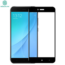NILLKIN CP+ Full Cover Tempered Glass for Xiaomi Mi A1 9H 2.5D edge Screen Protector For Xiaomi Mia1 Protective Glass Film
