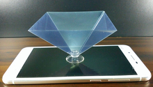 3D holographic phone projector displayer 3d screen