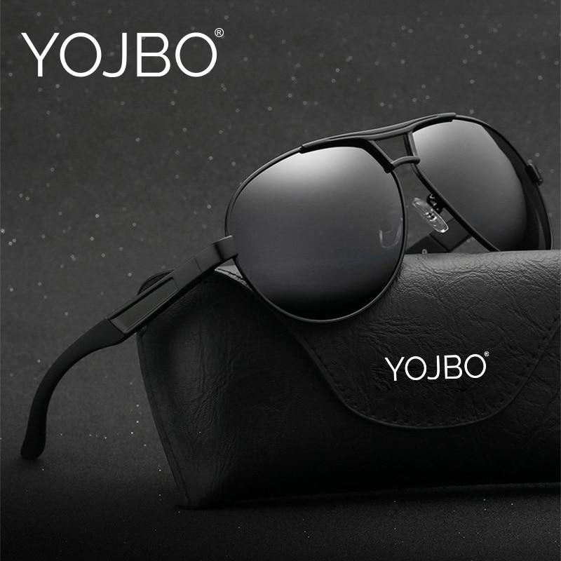 YOJBO Gafas De Sol polarizadas De los hombres 2018 De lujo Vintage Gafas De Sol puntos mujer Oversized conductor Gafas De Sol marca diseñador Gafas