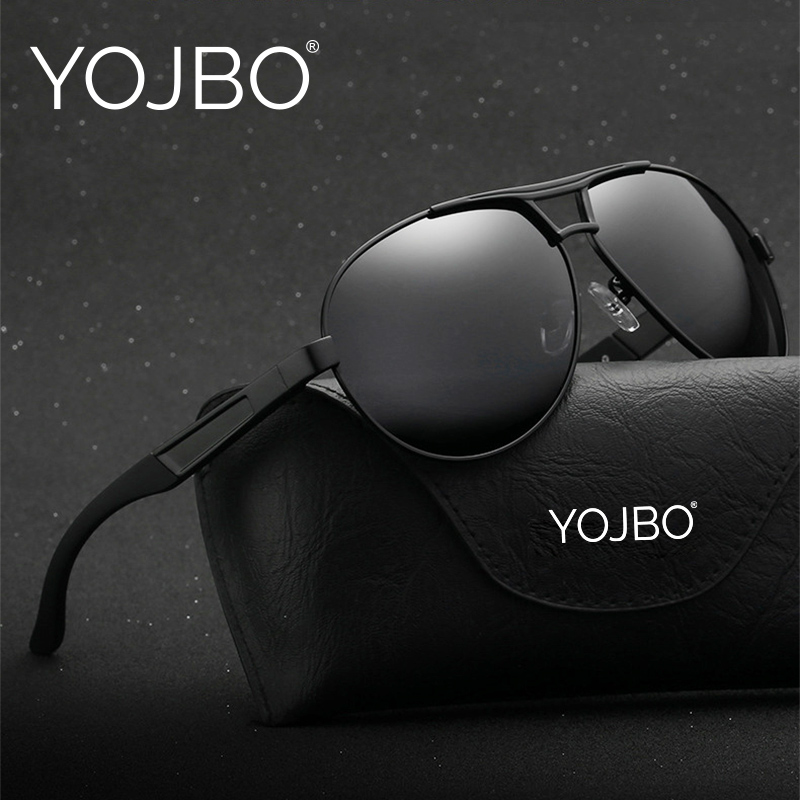 YOJBO Occhiali Da Sole Polarizzati Uomini 2018 di Lusso Dell'annata Gafas De Sol Punti Driver di Occhiali Da Sole Del Progettista di Marca Delle Donne di Grandi Dimensioni Occhiali