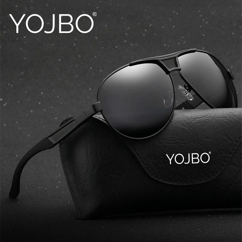 YOJBO Pilot Mens Sunglasses 2018 Polarized Gafas De Sol Mujer Points for Women Sun Polar Driver Glasses Brand Designer Eyewear