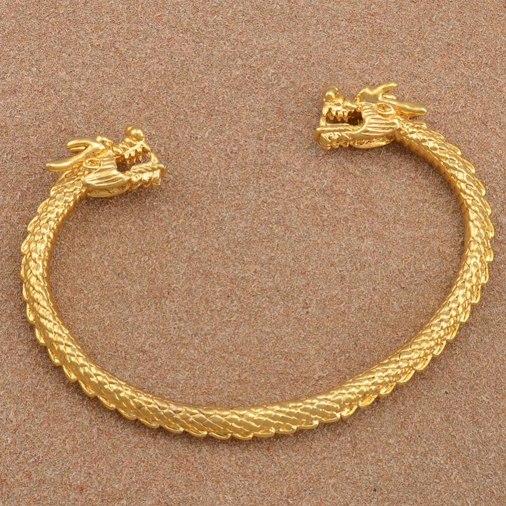 Anniyo Bracelet For Men Gold Color Bangle Woman Mascot Jewelry Guyana African Party Gift 004510 In Bangles From Accessories On