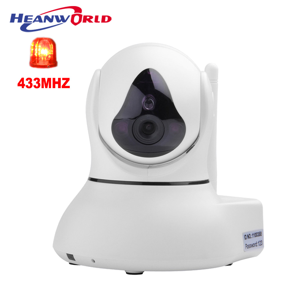 Home Security Alarm WiFi CCTV IP Camera Wireless HD 720P Mini Cameras 433MHZ Video Webcam Micro SD Solt Smart Phone APP baby monitor camera wireless wifi ip camera 720p hd app remote control smart home alarm systems security 1mp webcam yoosee app