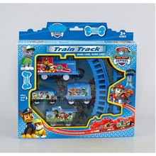2016 HOT Arrival Puppy Patrol dogs Patrol electric Toys Patro heros Electric Rail Train Track Toy For Kids