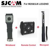 Original Wearable Wrist Bracelet Wristwatch Remote Control Monopod For Sjcam M20 Sj6 Legend Sj7 Star Sports